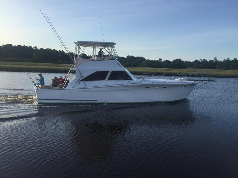 Offshore inshore and reef fishing charters for Holden beach fishing
